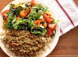 Easy lentil dal recipe