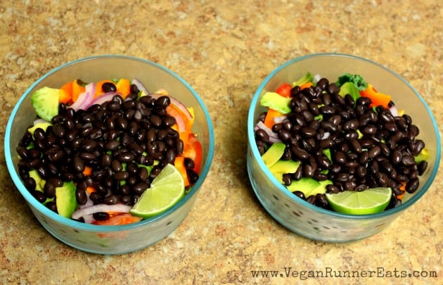 5 easy and healthy vegan office lunches vegan runner eats salads forumfinder Choice Image
