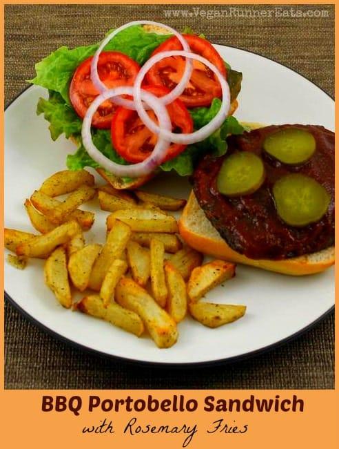 BBQ Portobello Sandwich 1