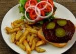 Barbecue Portobello Burgers 2