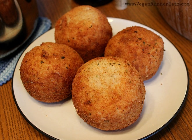 Vegan Italian Rice Balls