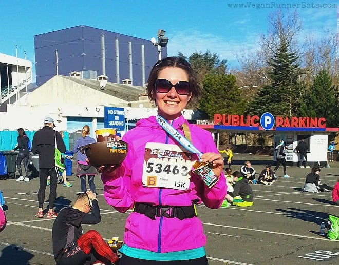 Hot Chocolate 15k Seattle - after the race