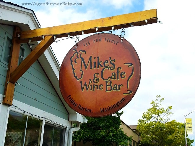 Mike's Cafe and Wine Bar in Friday Harbor, San Juan Island, WA