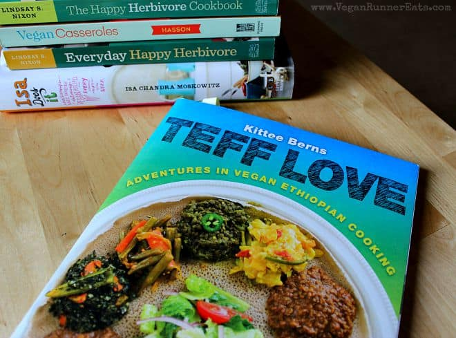 Teff Love - a vegan Ethiopian cookbook, one of my top 5 favorite vegan cookbooks