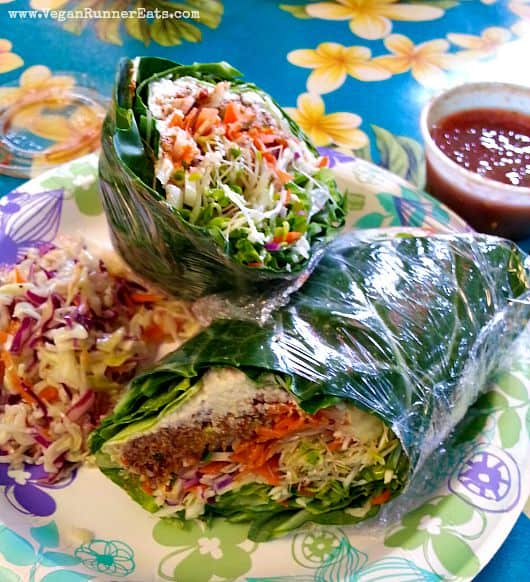 Where to find vegan food on maui hawaii vegan runner eats vegan lunch at joys place in kihei maui hawaii forumfinder Image collections