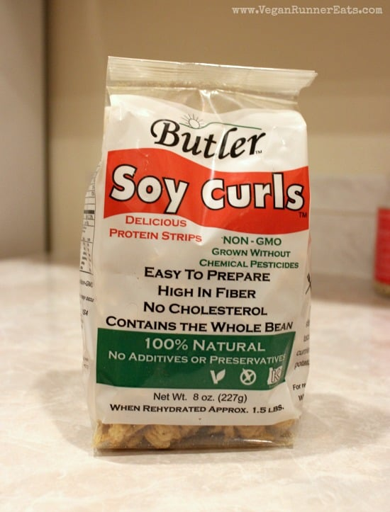 What to cook with Butler Soy curls
