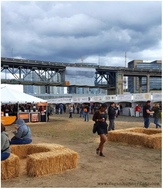 Morning at Portland Vegan Beer and Food Festival