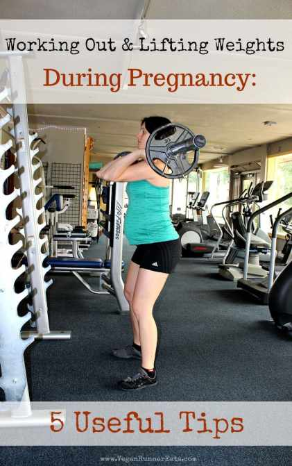 Working out and lifting weights during pregnancy: 5 useful tips | fit pregnancy tips | pregnancy fitness tips | pregnant weightlifting