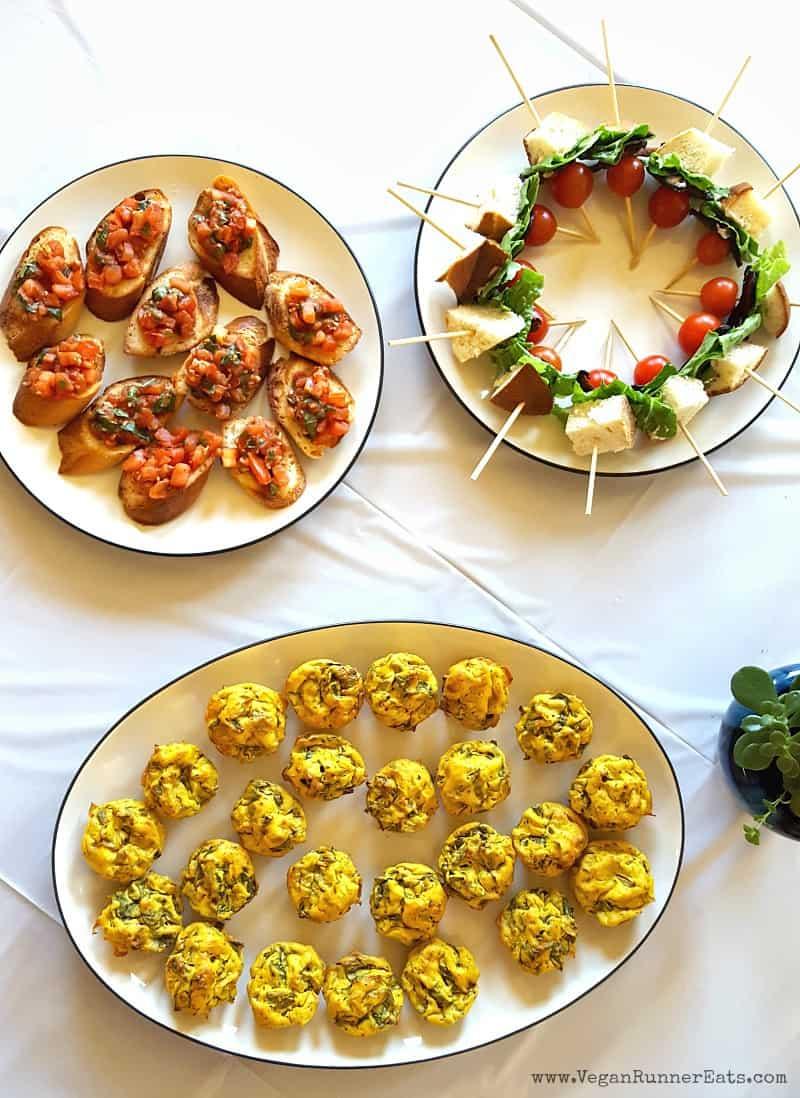 Vegan baby shower menu ideas
