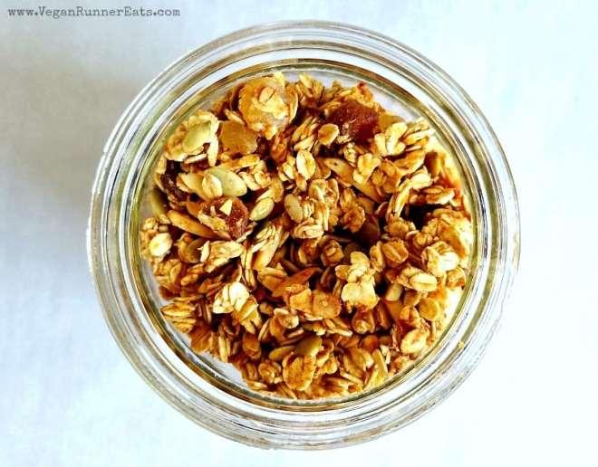 Homemade healthy granola recipe