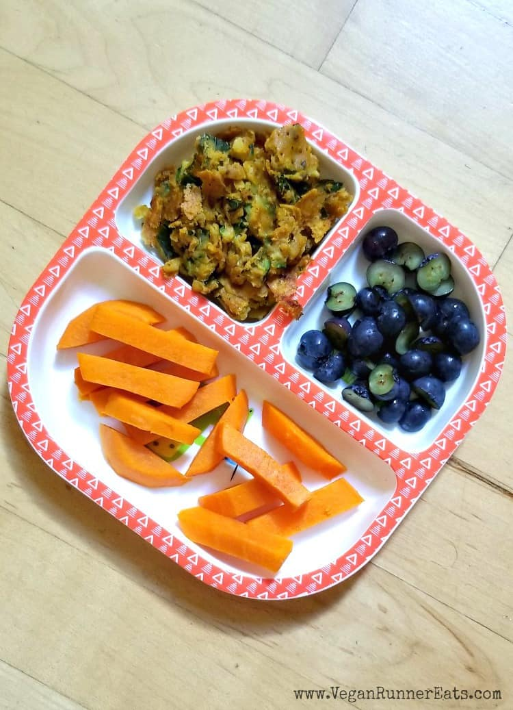 7 baby food recipes for vegan baby-led weaning
