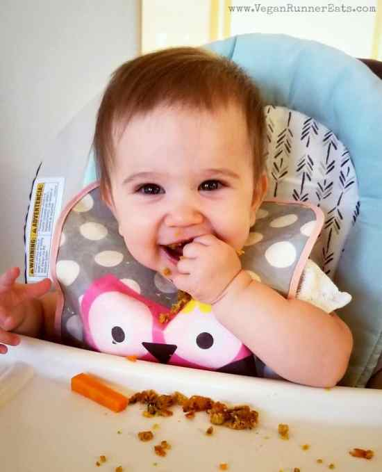 7 plant-based baby-led weaning food recipes to try at home