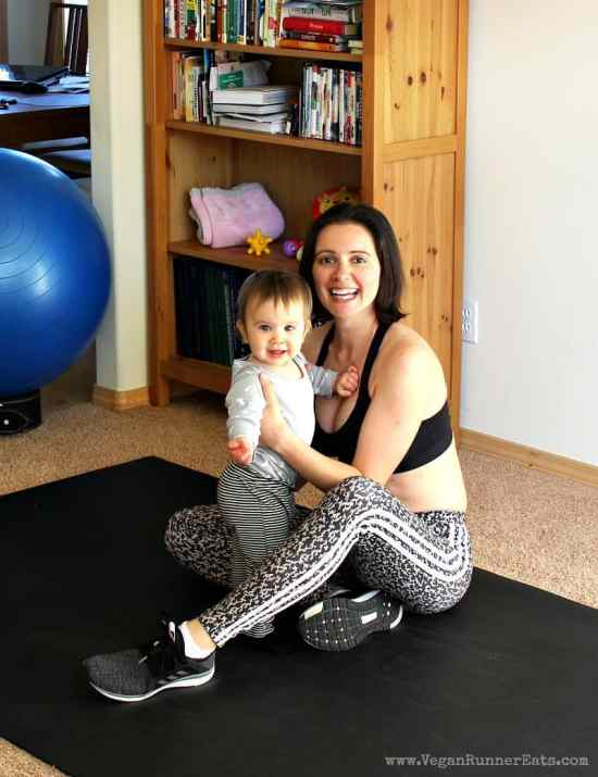 Working out after having a baby - my fitness journey