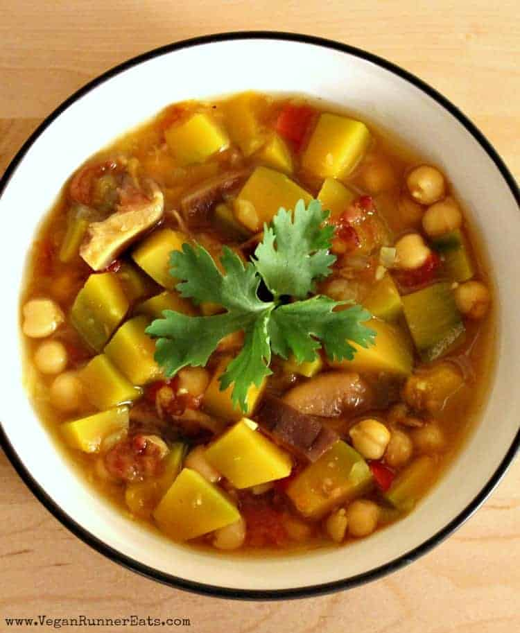 Vegan Tamarind and Kabocha Squash Soup Recipe
