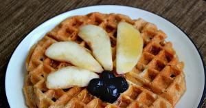 Easy vegan waffles recipe