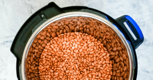 Using an Instant Pot: how to cook beans