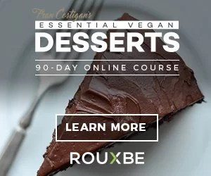 learn how to cook vegan desserts online with rouxbe vegan online cooking course