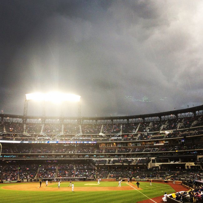 Spring's First Visit to Citi Field
