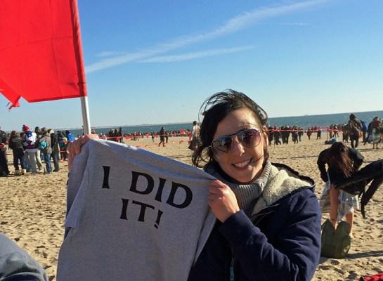 Freezin' for a Reason, Coney Island New Years Polar Bear Swim