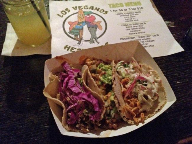 Taco Tuesday at Los Veganos Hermanos