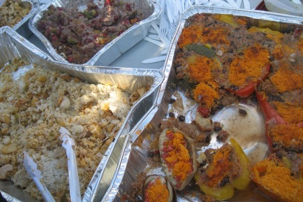 Giving Thanks, Part II: Food Not Bombs