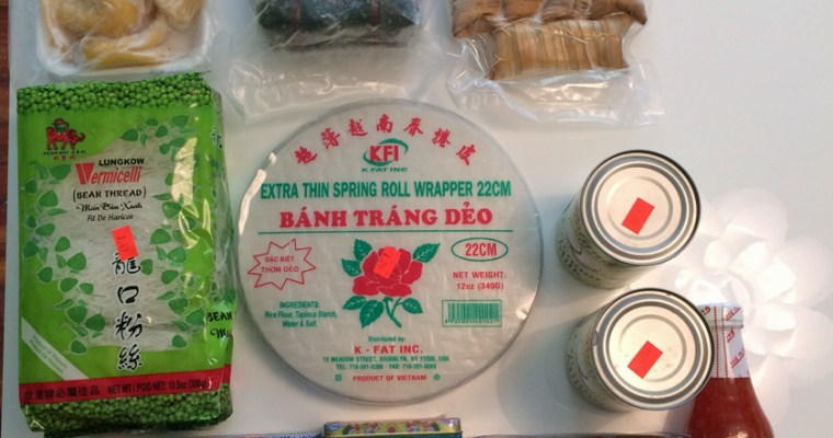 These Are a Few of My Favorite Things: <b>Asian Grocery Stores</b>