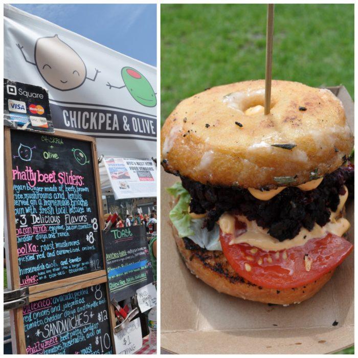 Sun & Rain: Vegan Options at Smorgasburg