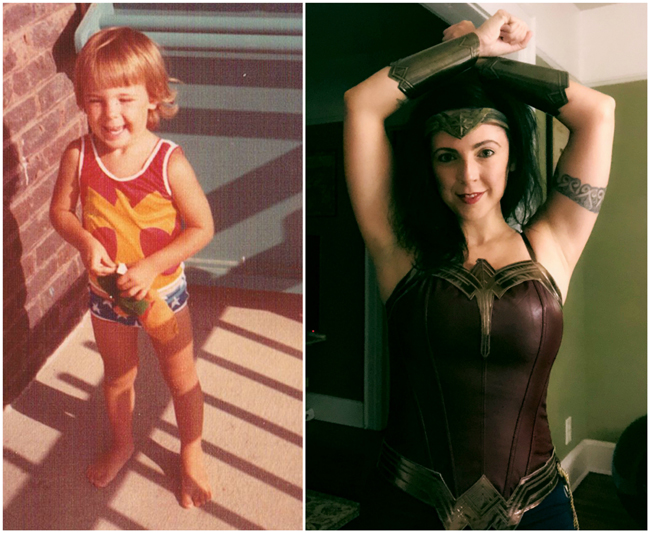 Throwback: Being Wonder Woman (Then & Now)