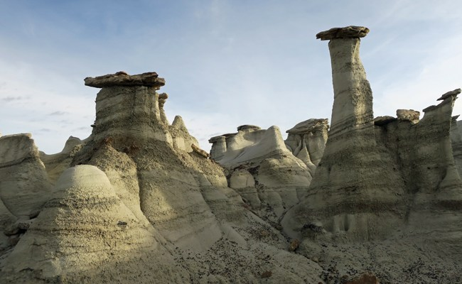 Roaming About the Bisti/De-Na-Zin Badlands in New Mexico