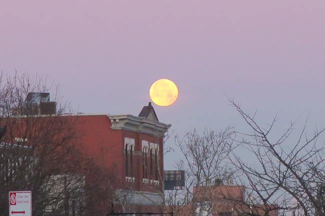 January's Full Wolf Moon