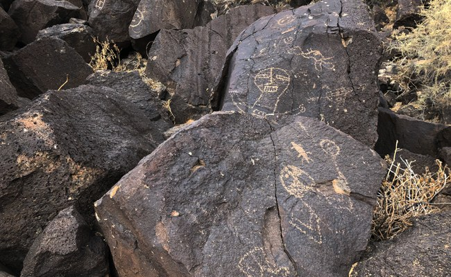 Cowboys, Donuts, Petroglyphs, Fajitas in New Mexico