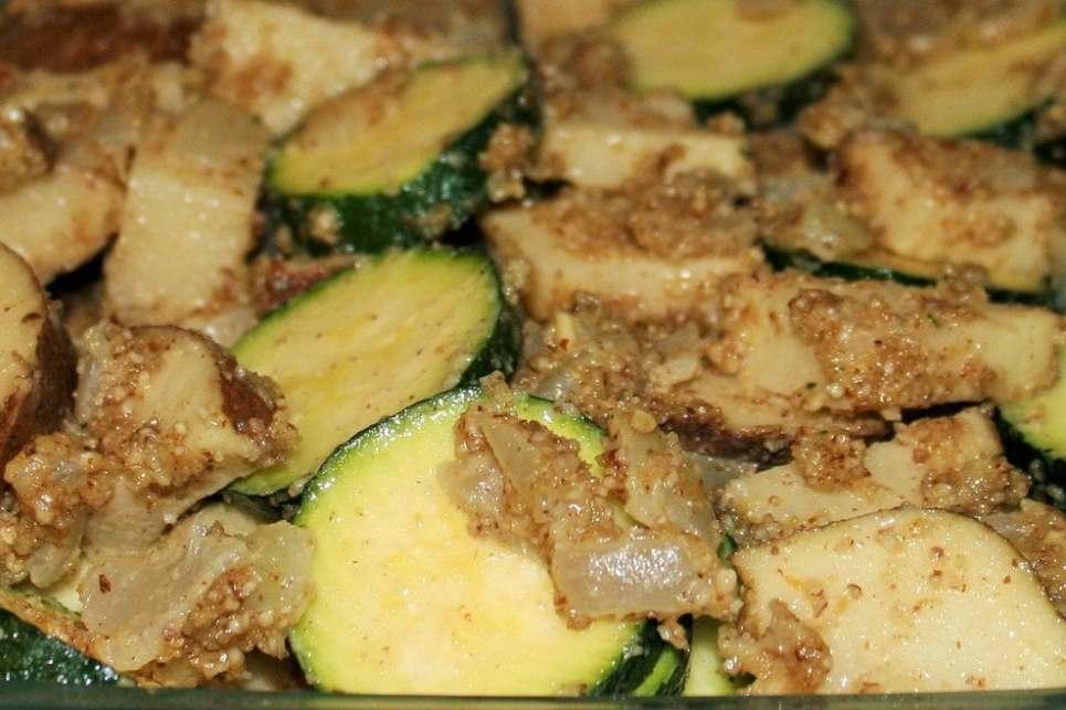 Potato Zucchini Gratin