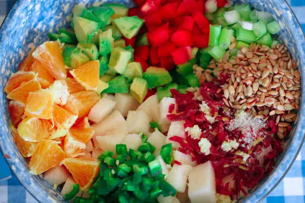 Summer Jicama Salad