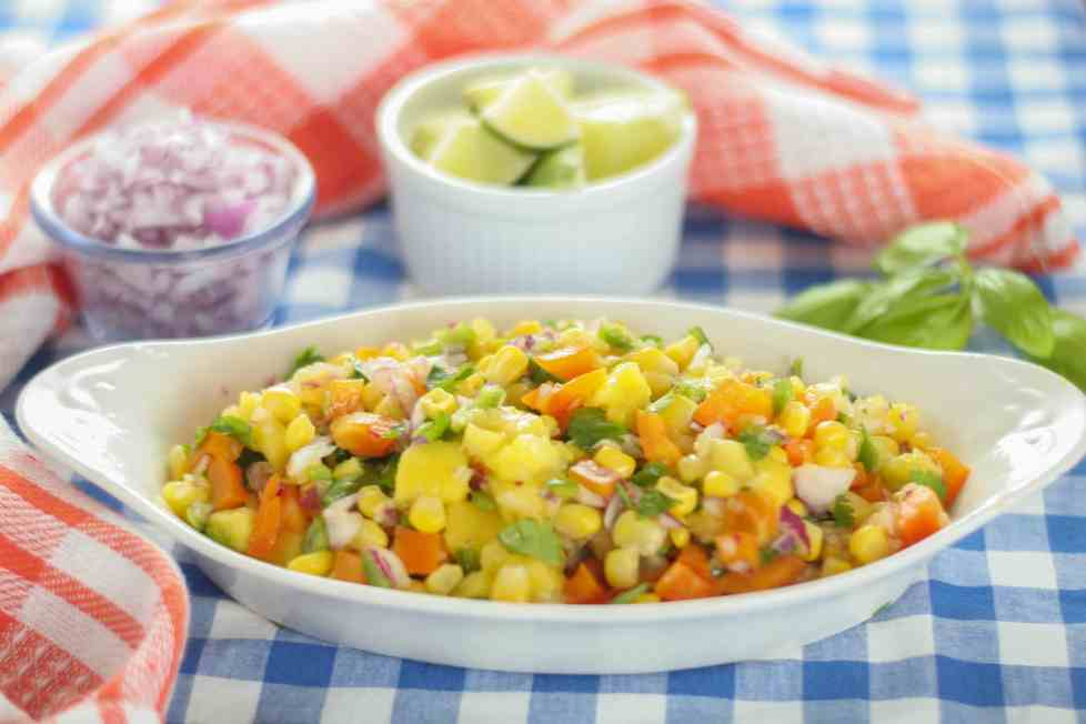 Mango and Sweet Corn Salsa