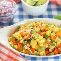 10-Minute Mango and Corn Salsa