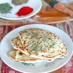 Vegan Garlic Naan