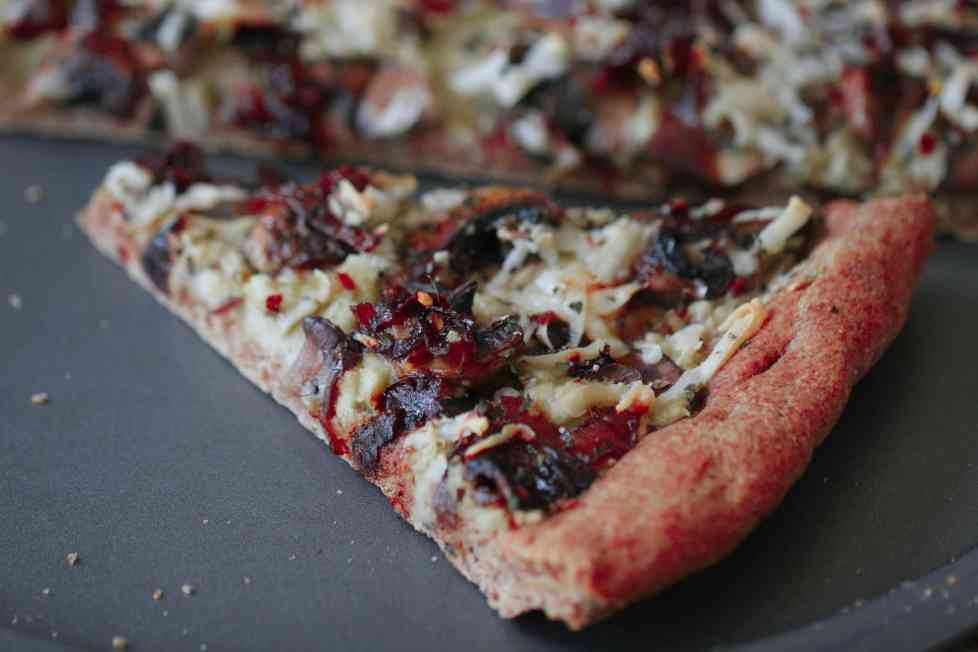Slice of Vegan Pizza