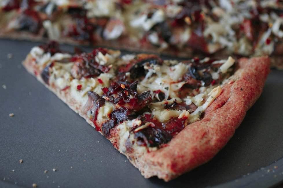 Slice of Vegan Pizza