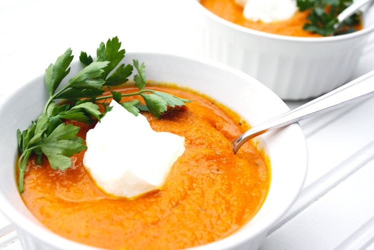 Carrot, Tumeric and Ginger Soup