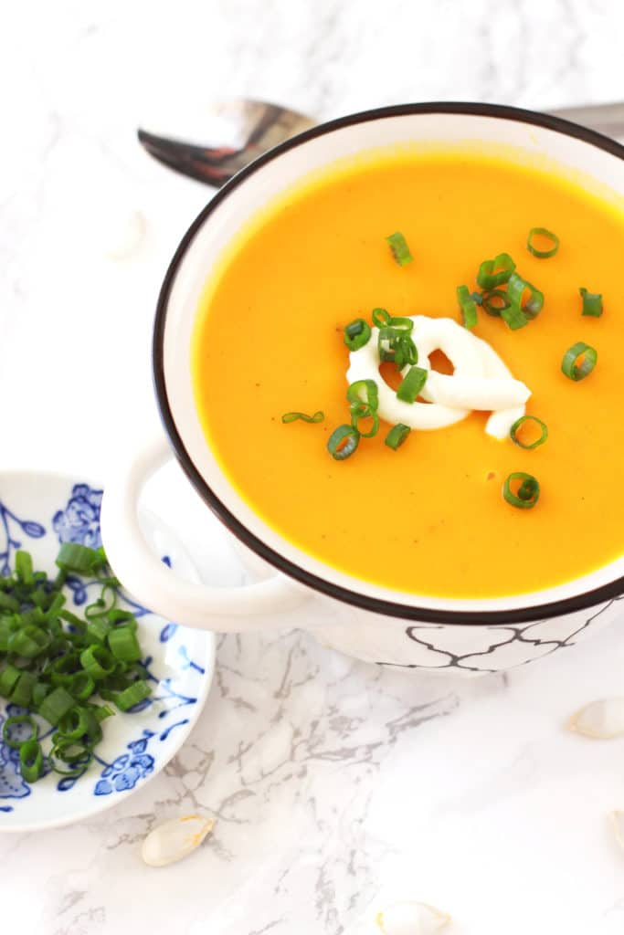 Hubbard Squash Soup