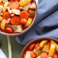 Healthy Vegan Vegetable Soup (Oil-Free, No-Added Salt)