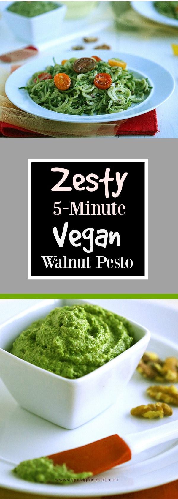 Vegan Walnut Pesto