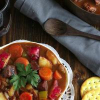 The Best Vegan Guinness Irish Stew