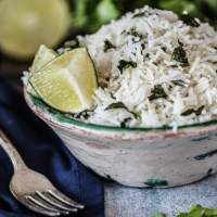 How to Make Cilantro Lime Rice in Your Rice Cooker + Video