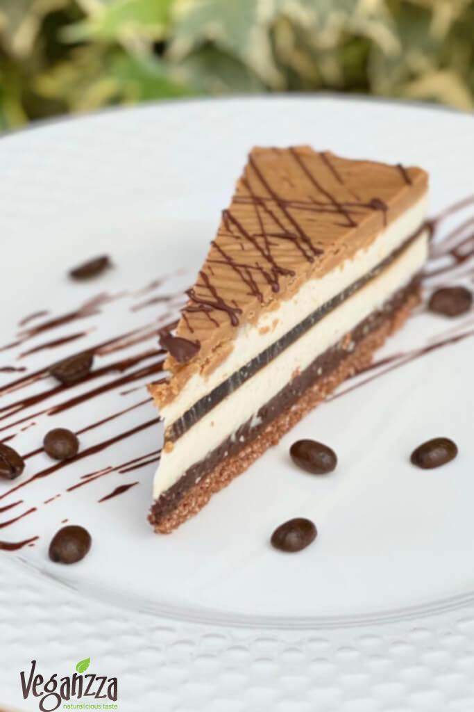 Prăjitura C4 - cafea, cardamom, ciocolata si caramel