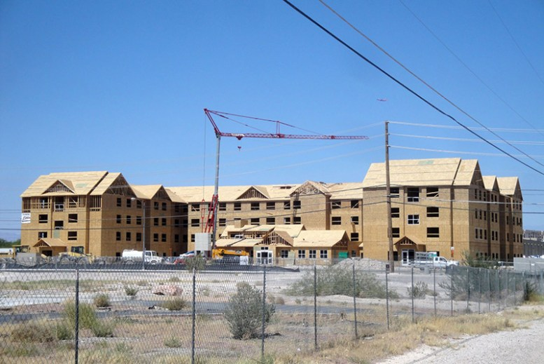 Residence Inn construction