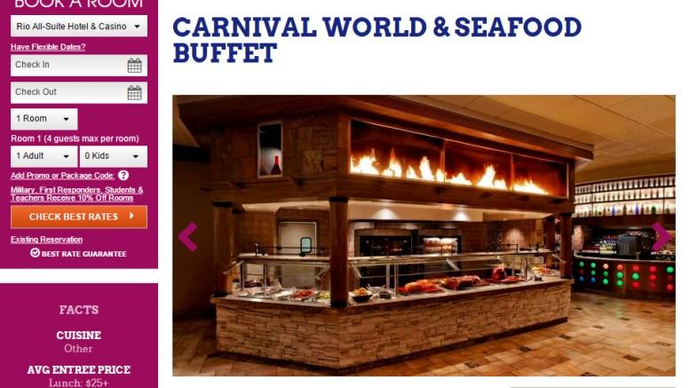 Prime Rios Village Seafood Buffet Now At Carnival World Vegas Download Free Architecture Designs Pushbritishbridgeorg