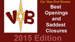 The Best Openings and Saddest Closures of 2015