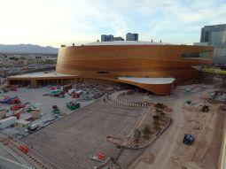 Arena takes shape