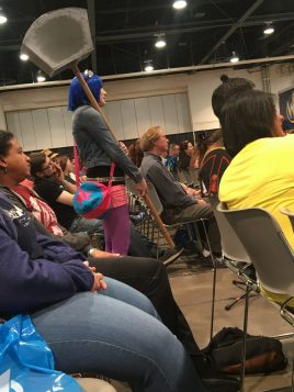 Q/A from the audience for Jewel Staite's panel